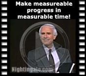 Make measureable progress in measureable time!